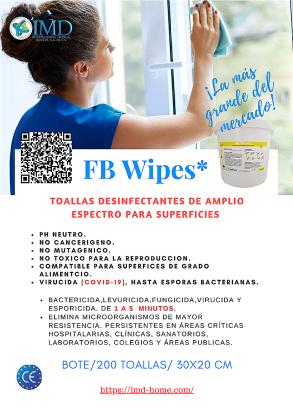 FB Wipes Toallas desinfectantes